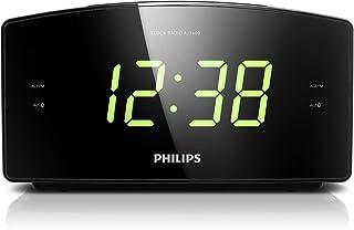 comprar comparacion Philips AJ3400 - Radio Reloj Despertador con Gran Pantalla LED (Radio FM, Alarma Dual y repetición) Negro