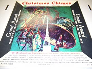 Christmas Chimes 18 of the Best Loved Christmas Carols David Harkness and Fredrico