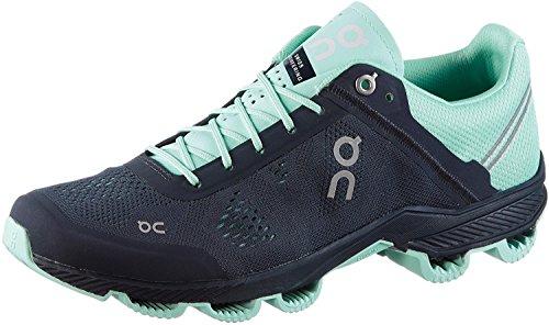 On Damen Cloudsurfer Sneaker, Schwarz (Ink/Jade), 35.5 EU