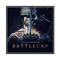 PDFKE Battlecry地獄からの2つのステップアルバムキャンバス絵画ポスターとプリントリビングルームの家の装飾のための壁の芸術-60x60cmフレームなし1個