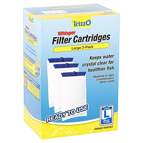 Tetra Whisper Large Aquarium Filter Cartridge 3pk