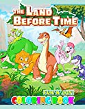 Fun  N  Joy - The Land Before Time Coloring Book: Great Coloring Book For Kids and Adults - The Land Before Time Coloring Book With High Quality Images For All Ages