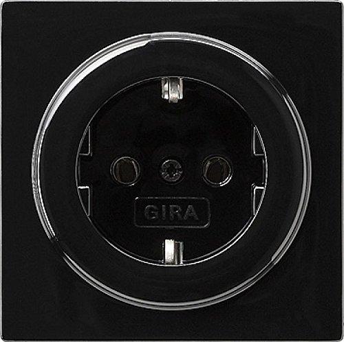 Gira 018847 Schuko stopcontact S, zwart