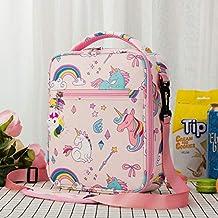 Zcm Lunch Bag Mode Kids Thermal Food Cooler Bag Fitness BPA gratis Kinderen Cartoon Eenhoorn Lunch Box Tas voor Meisjes