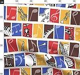 Jazz, Instrumente, Musik, Notizen, Klavier, Trommel,