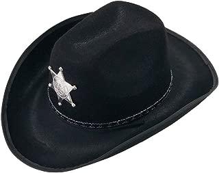YIDAMY Cowboy Hat - Studded Cowboy Hat - Cowboy Costume Accessories - Western Cowboy Hat Black