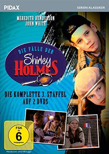 Die Fälle der Shirley Holmes, Staffel 3 / Weitere 13 Folgen der preisgekrönten Krimiserie (Pidax Film- und Hörspielverlag) [2 DVDs]