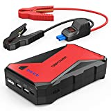 DBPOWER 1000A Portable Car Jump Starter (up to 7.0L Petrol, 5.5L...