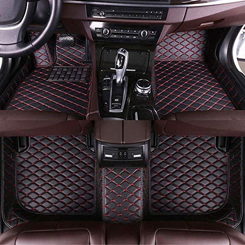 shanhua Kofferraummatte Für Jaguar XE 2017-2019,Cargo Mat Trunk Liner wasserdichte Antiskid schwarz 125 x 97 cm