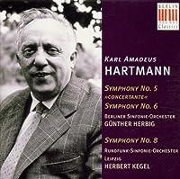 Hartmann: Symphony No. 5 Concertante; Symphony No. 6; Symphony No. 8 (1996-01-23)
