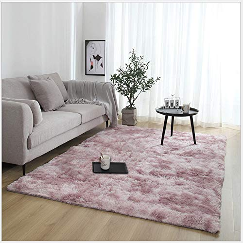 RUNYA Rug Living Room Large Soft Faux Fur Sheepskin Area Rug Modern Shaggy Carpet...