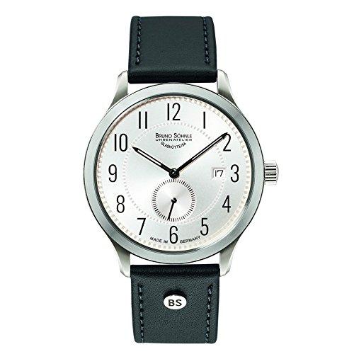 Bruno Söhnle Herren Analog Quarz Uhr mit Leder Armband 17-13181-220