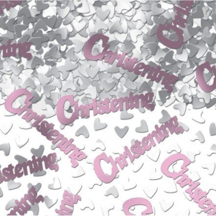 (Pink, 1 - Pack) - Pink Christening Confetti