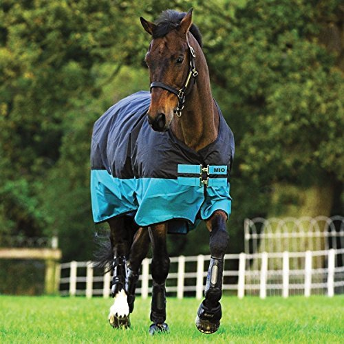 Horseware Mio Medium Turnout Blanket 66 Black by HORSEWARE PRODUCTS, LTD