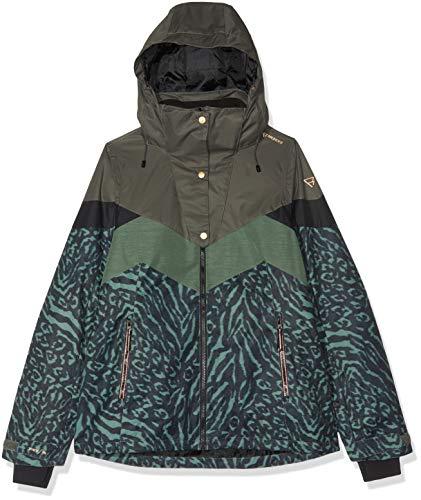 Brunotti Damen Junglefowl Women Snowjacket Jacke, Pine Grey, XL