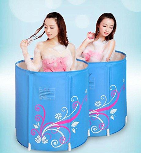 FACAI888 Tuyau gonflable Eau épais / Tuyaux / Tuyaux pliants / Baignoires pour enfants - Barils de bain - Barils de bain en plastique - Couche de coton de corps / chaleur pendant 3 heures