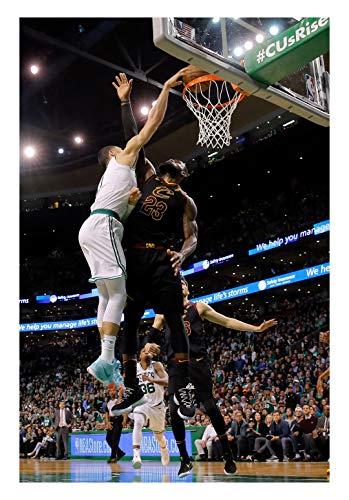 Fullfillment Posters Jayson Tatum Boston Celtics Poster Photo Celebrity Basketball NBA Limited Print Sizes 8x10 11x17 16x20 22x28 24x36 27x40#1 (24x36 inches)