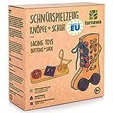 Tarnawa Handgemachte Montessori Spielzeug, Nachhaltige Motorikspielzeug, Lernspielzeug für Kinder, Holzspielzeug von 3 bis 9 Jahren, Lernspiele ab 3 Jahre- Geburtstagsgeschenk für Mädchen und Jungs