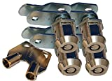 Prime Products 18-3325 Ace Key Locks - 7/8', Pack of 4