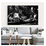 Suuyar Poster und Drucke Pearl Jam Photo Art Poster Home