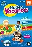 Cahier de vacances 2020 de la Petite section vers la Moyenne section 3/4 ans