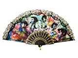 Midsouth Products Elvis Colorful Collage Foldable Hand Fan