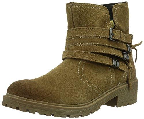 Dockers by Gerli 354430-001056, Damen Biker Boots, Braun (stone 056), 37 EU (4 Damen UK)
