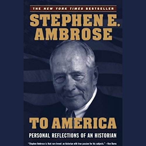 To America audiobook cover art