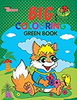 Big Colouring Green Book for 5 to 9 years Old Kids Fun Activity and Colouring Book for Children