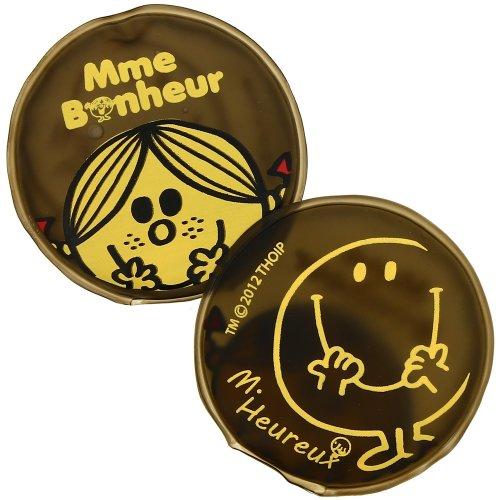 Mr et Mme - Lot 2 Mini Bouillotte Chaufferette Poche Monsieur Madame Bonheur