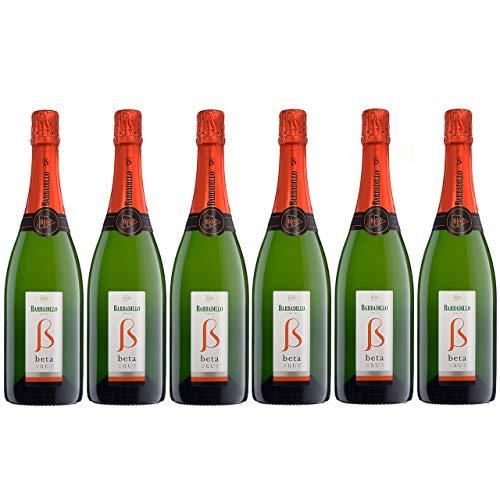 Barbadillo Beta Brut   Vino Blanco Espumoso Chardonnay y Palomino Fina - Caja 6 x 75 cl