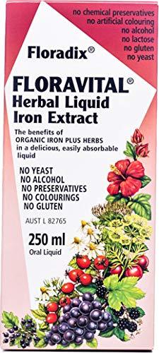 Salus Floravital Hierro y Vitaminas - 250 ml