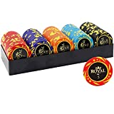 HKTK Poker Fichas Poker Maletin Poker Set Juego de Poker Set...