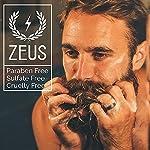 ZEUS Men's Beard Shampoo & Beard Conditioner Set – US MADE – Soften, Hydrates, & Moisturizes, Prevents Itching & Flaking… 7