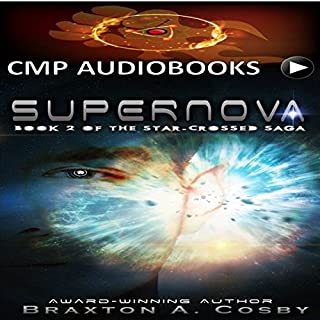 Supernova (Book 2 of The Star-Crossed Saga) audiobook cover art