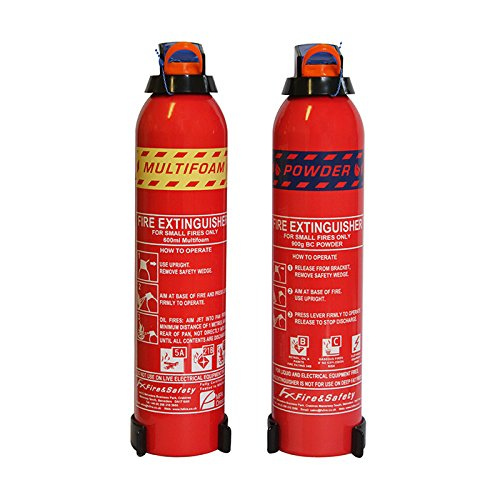Fireshield Home & Leisure Fire Extinguisher Pack