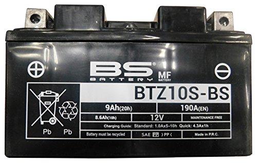 BS Battery 300696 Motorrad-Batterie, Schwarz (Preis inkl. EUR 7,50 Pfand)