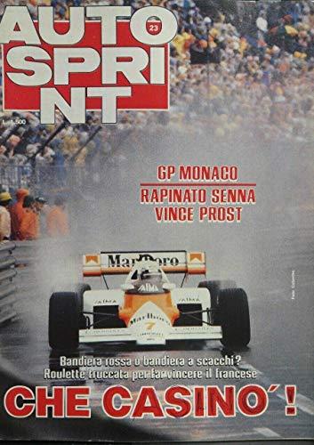 Autosprint 23 giugno 1984 GP Monaco rapinato Senna vince Prost