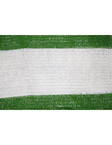 Jardin202 2 m. de Ancho - Malla de Sombreo Bicolor Verde/Blanco -...