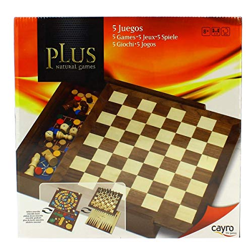 Cayro 5 Natural Games Games Plus (1615)