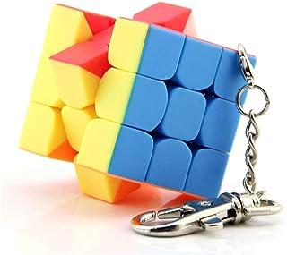 SOKOYO Moyu 3x3 Mini Cube Keychain Smooth Cube Pendant Children Puzzle Gift 30mm & 35mm & 40mm (35mm)