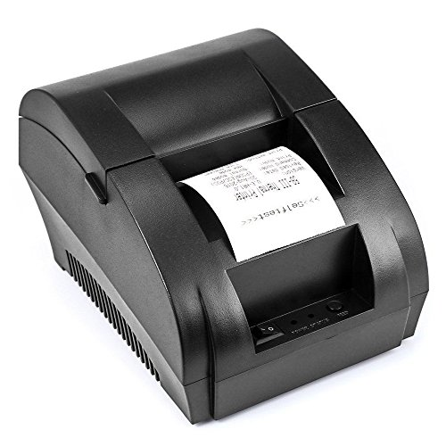 USB Thermal Receipt Printer TEROW 58mm Mini Small Portable Label Printer with High Speed Printing Compatible with ESC/POS Print Commands Set, Easy to Setup