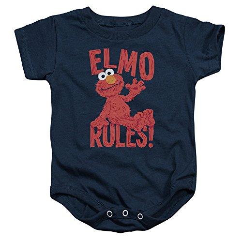 Sesame Street - Barboteuse - Bébé (garçon) - bleu - 18 mois