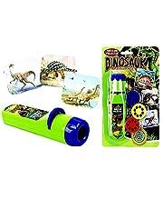 Dinosaurus speelgoed fakkel & dia projector licht kleine lamp zaklamp pedagogisch leren slapend nachtlampje