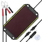 Sun Energise Waterproof 12V 5W Solar Battery Charger Pro - Built-in MPPT Charge