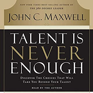 Talent Is Never Enough cover art