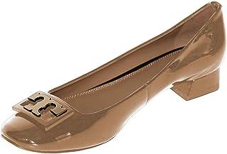 eb4988c61d03 Tory Burch Women s Jill Pump Patent Leather Pump Heel Shoes 52824 Tory Beige