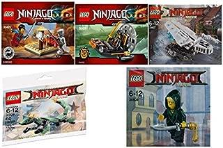 Ninjago Polybag Set 30425, 30426, 30427, 30428, 30609 (Custom Bundle)
