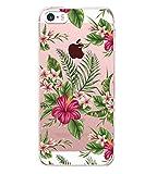 Vanki Compatible pour Coque iPhone 5/5S/SE, TPU Souple Etui de Protection Silicone...