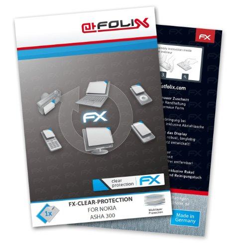 Displayschutz@FoliX atFoliX - Pellicola Protettiva per Nokia Asha 300